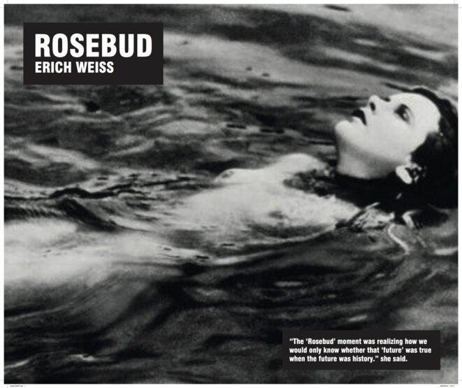 """Rosebud"", Performance Erich Weiss"