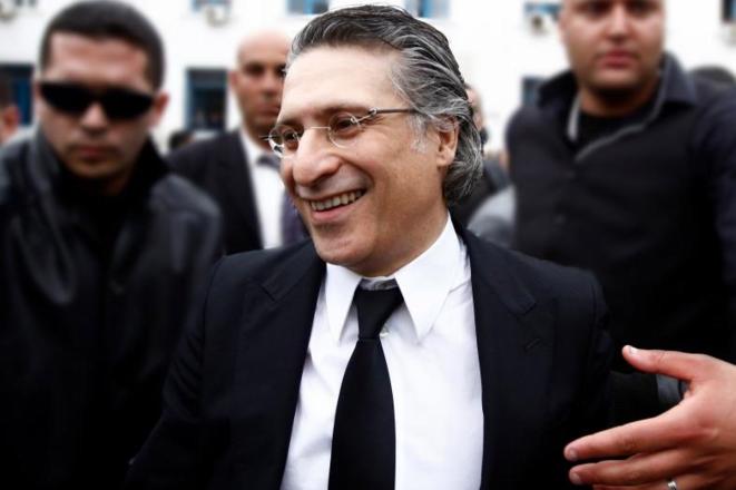 Nabil Karoui, le magnat des médias, candidat à la présidentielle de novembre en Tunisie. © Reuters