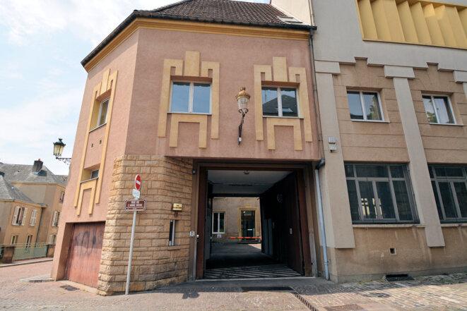Foyer du Jeune Ouvrier, rue de l'Abbé Risse à Metz