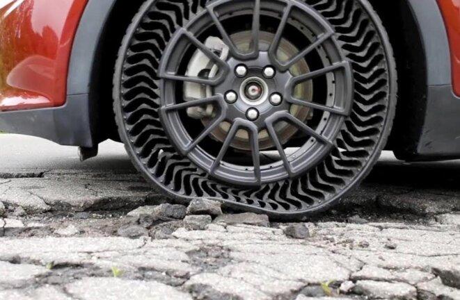 Pneu increvable © Michelin
