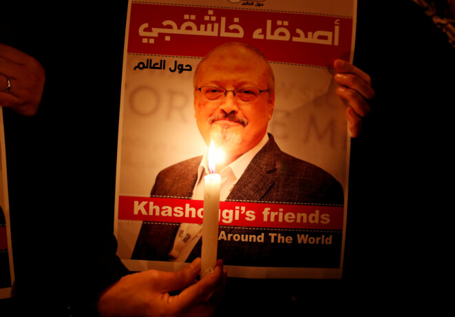 Hommage au journaliste Jamal Khashoggi © Reuters