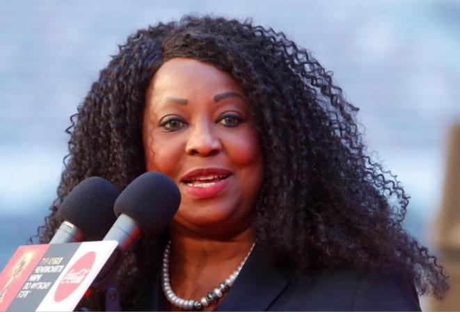 Fatma Samoura, secrétaire générale de la Fifa. © Reuters