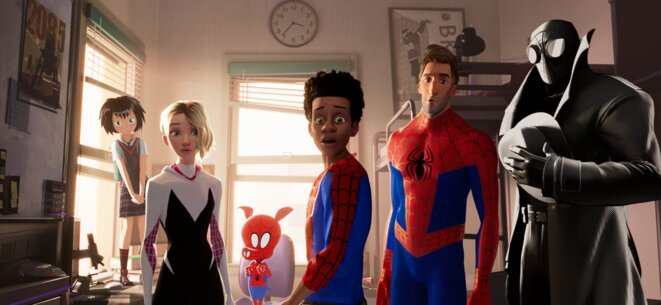 """Spider-Man : New Generation"" de Bob Persichetti, Peter Ramsey et Rodney Rothman © Sony Pictures"