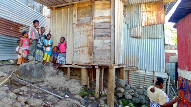 Enfants de Kaweni, 2013. © daniel gros