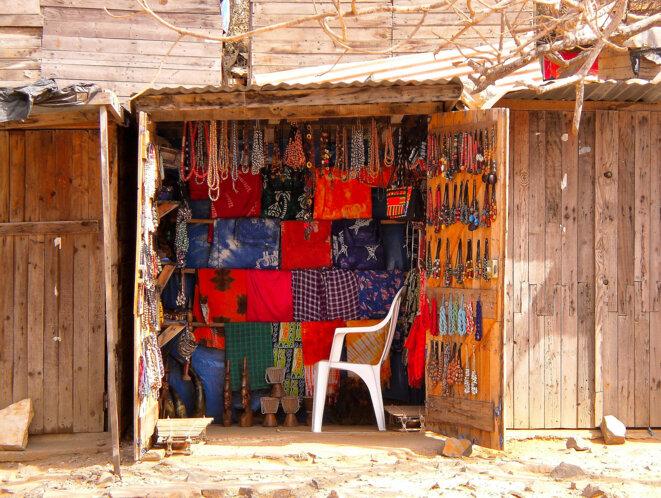 Boutique à Gorée, Sénégal © A.H.G. Randon