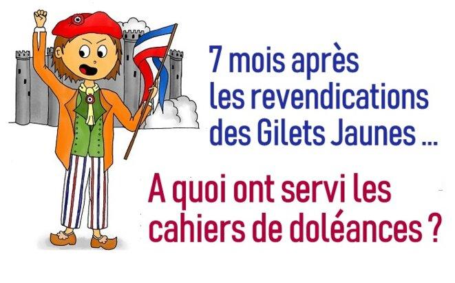 L'escroquerie aux cahiers de doléances © Pierre Reynaud