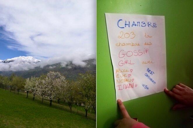 Au chalet de La Tsaretta, en Savoie, au printemps 2019. © ID