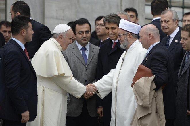 Le pape François serait-il islamiste ? © Pierre Reynaud