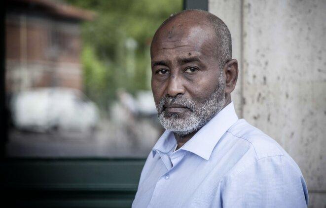 Adan Mohamed Abdou en juin 2019 © Christophe Rigaud - Afrikarabia