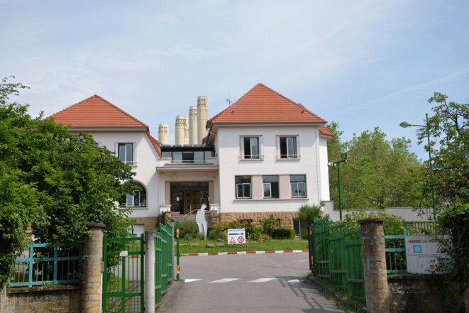 Le Centre Départemental de l'Enfance (CDE) à Metz, route de Plappeville