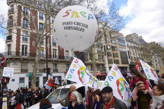 La grève des examens © Pierre Reynaud