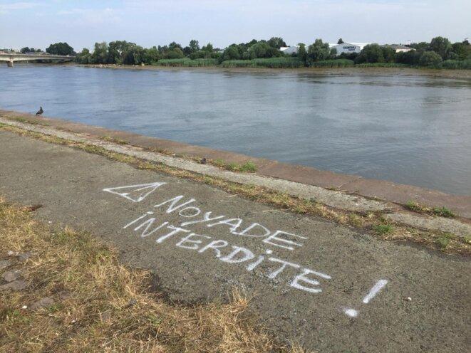 Sur l'île de Nantes. © EP