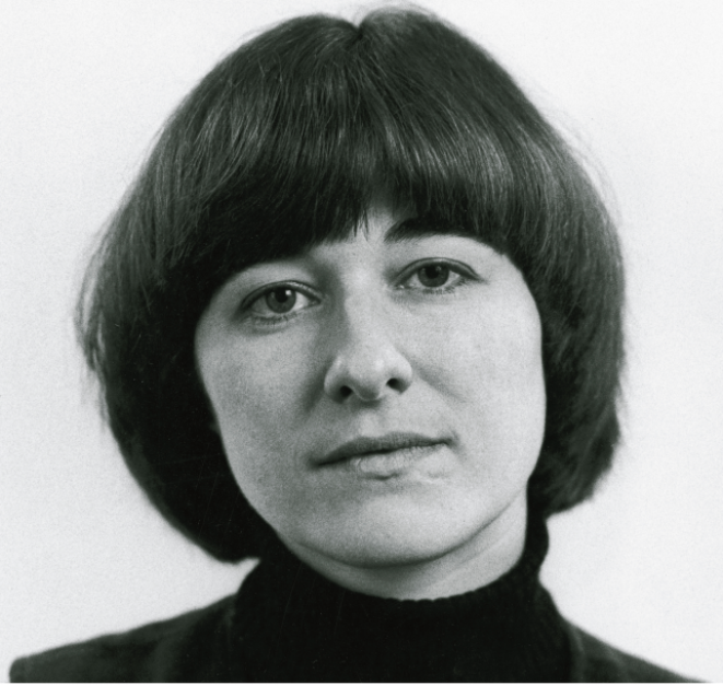 Pia Tafdrup, dans les années 1980. © Foto Gregers Nielsen/Gyldendals Billedarkiv