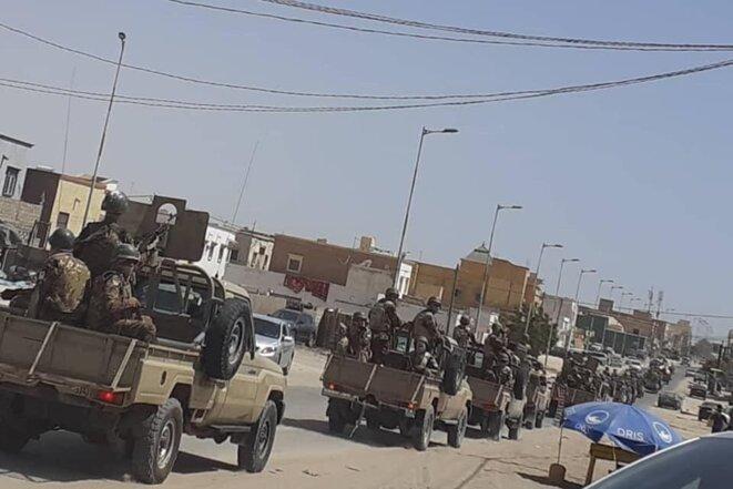 Nouakchott en état de siège