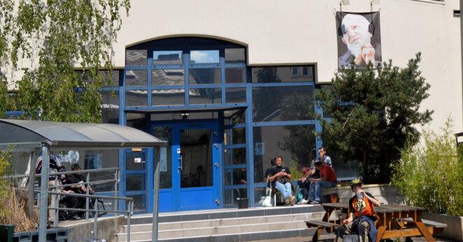 La Boutique Solidarité de la Fondation Abbé Pierre, rue Clovis à Metz