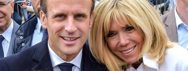 Emmanuel et Brigitte Macron © Pierre Reynaud