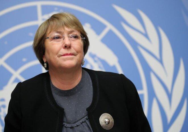 Michelle Bachelet. © Reuters