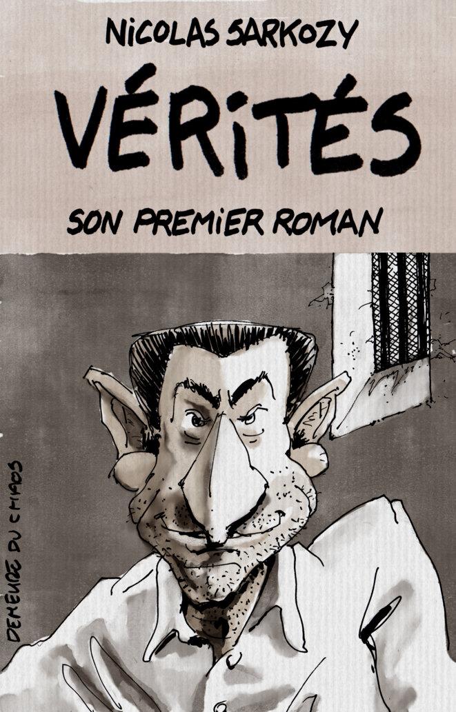 Sarkozy, écrivain à succès © Marc del Piano