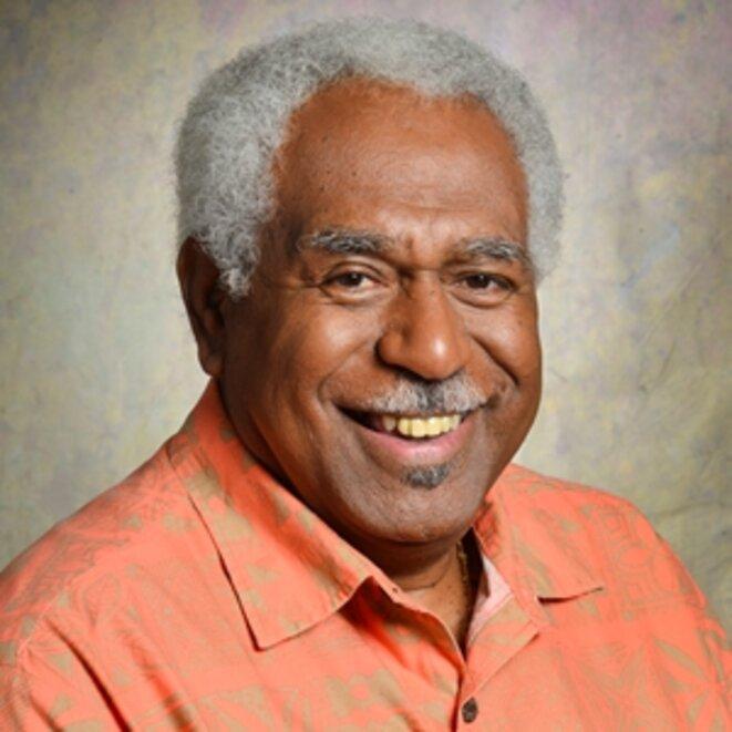 Roch Wamytan, Président du Congrès de la Nouvelle Calédonie.