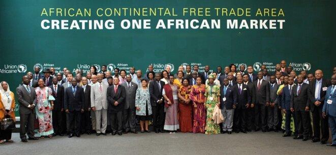 Union Africaine Création de la Zone de Libre-échange continental