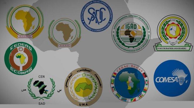 Organisations internationales sous-régionales en Afrique