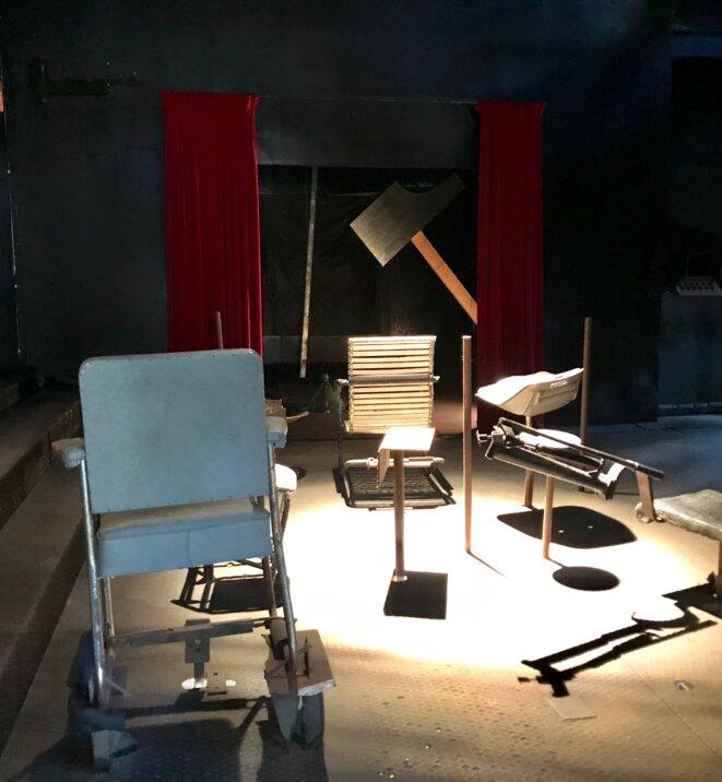Jean Tinguely, Petit théâtre automatique, Le Cyclop, Milly-la-Forêt, CNAP © Guillaume Lasserre