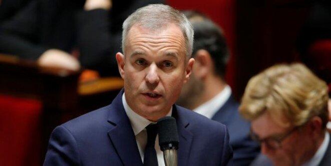 François de Rugy à l'Assemblée nationale en novembre 2018. © Reuters