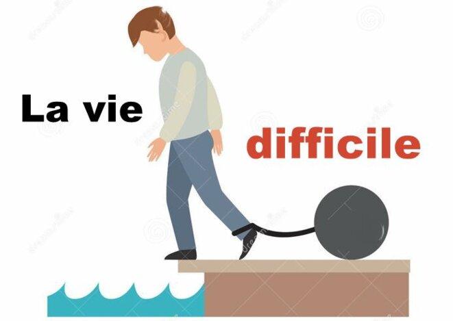 La vie difficile © Pierre Reynaud