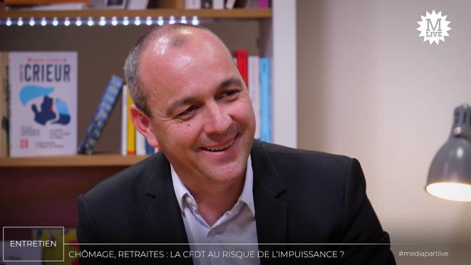 Laurent Berger. © Mediapart