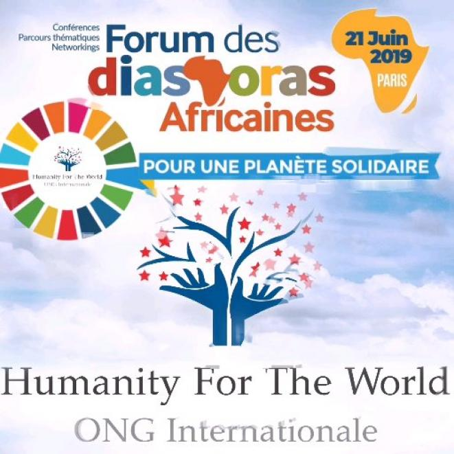 Humanity For The World (HFTW) au Forum des Diasporas Africaines © Humanity For The World (HFTW)