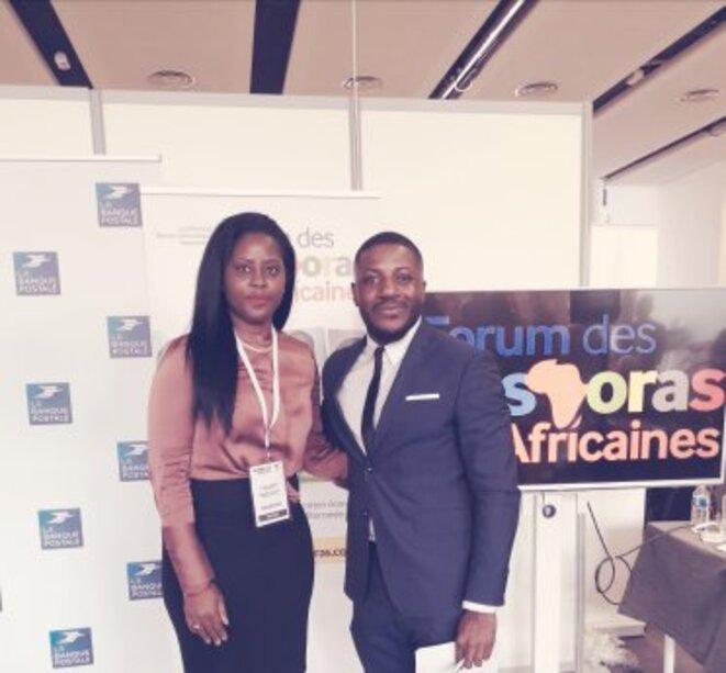 Dr.h.c Audrey POMIER FLOBINUS speaker au Forum des Diasporas Africaines © Humanity For The World (HFTW)