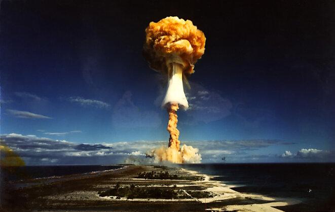 Essai nucléaire du 3 juillet 1970 à Mururoa