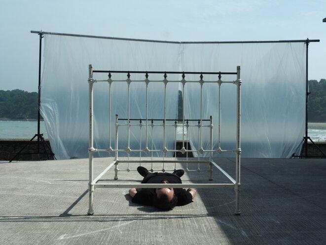 """Scène de   """"Au delà"""" © Solenn Maldene"""