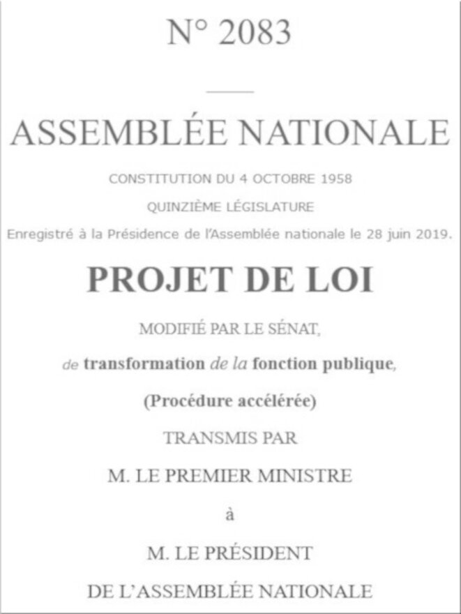 Document parlementaire © Document public Assemblée nationale