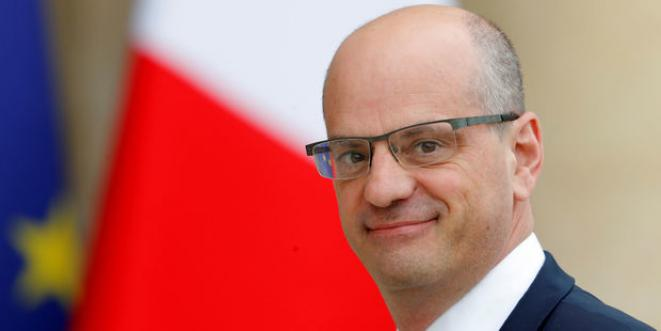 Ministre de l'Éducation nationale, J.M. Blanquer.