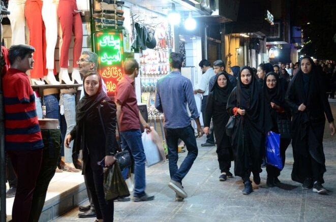 Pour un Iran libre et démocratique © rostam