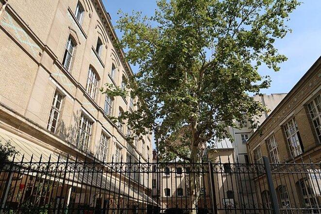 École élémentaire publique, 8 rue des Vertus, 75003 Paris © «Celette», Wikimedia Commons, licence CC-BY-SA int. 4.0