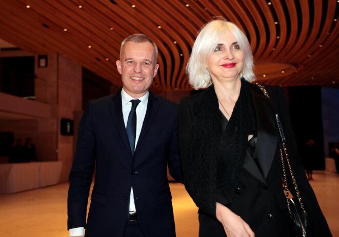 François et Séverine de Rugy, le 21 février 2019. © Reuters