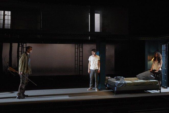"Scène de ""Pelléas et Mélisande"" © Christophe Raynaud de Lage"