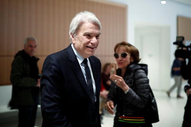 Bernard Tapie le 1er avril 2019 © Reuters / Benoit Tessier