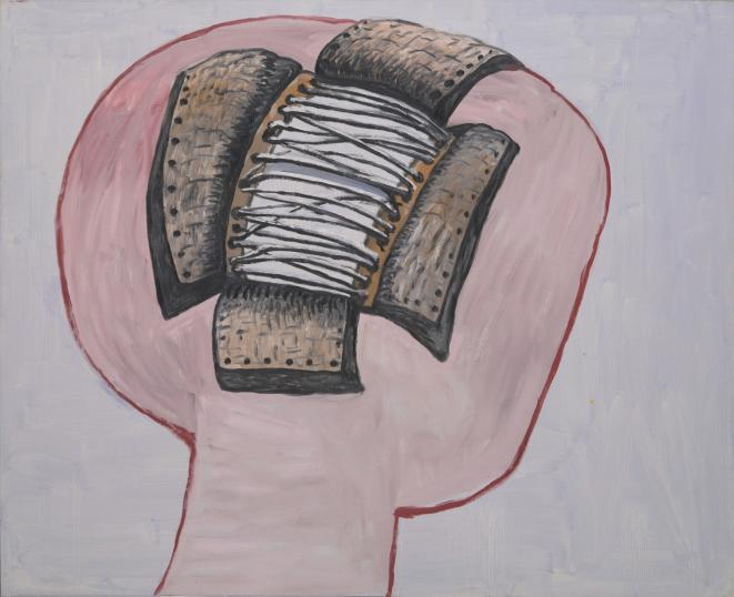 Philip Guston. Head. 1977 | MoMA | © The Estate of Philip Guston © Philip Guston