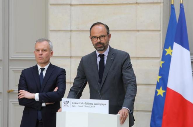 François de Rugy et Édouard Philippe. © Reuters