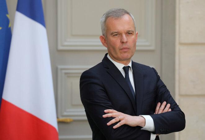 François de Rugy, ancien ministre de la transition écologique. © Reuters