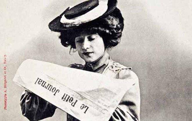 L'abonné-type de Mediapart serait une abonnée ?! © Le Petit Journal