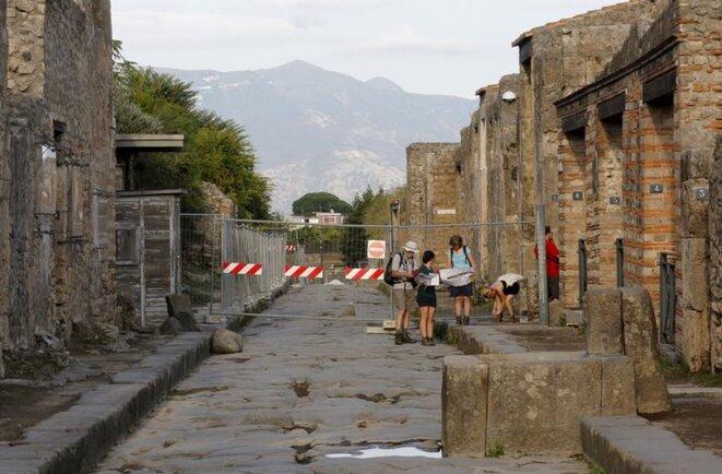 Le site de Pompéi en 2015. © Reuters