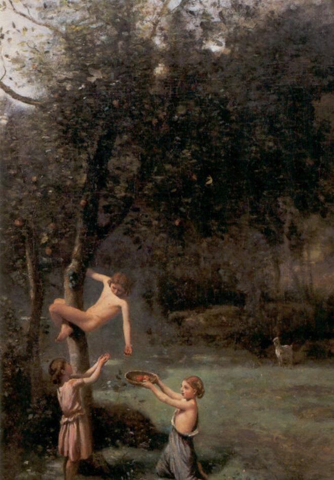 Le verger de Camille Corot © Musée de Semur-en-Auxois