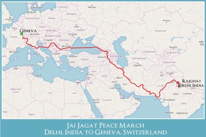 Parcours de Jai Jagat