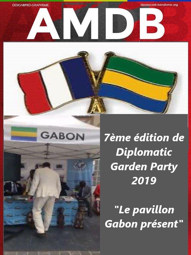 """7ème édition de Diplomatic Garden Party 2019 - """"le pavillon Gabon présent"""""""