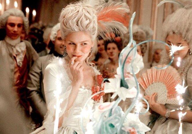 Kirsten Dunst dans « Marie-Antoinette » (2006). © DR