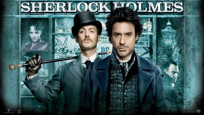 Le « Sherlock Holmes » de Guy Ritchie, avec Robert Downey Jr et Jude Law (2009). © Warner Bros France